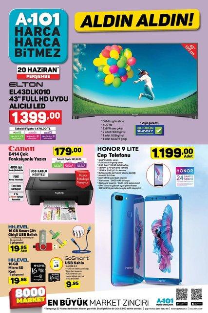 A101 20 Haziran 2019 indirimli aktüel ürünler kataloğu! A101'de indirimli ürünler satışta