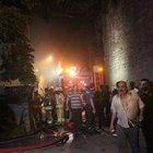 Fatih'ta yangın: 1 ölü, 1 yaralı