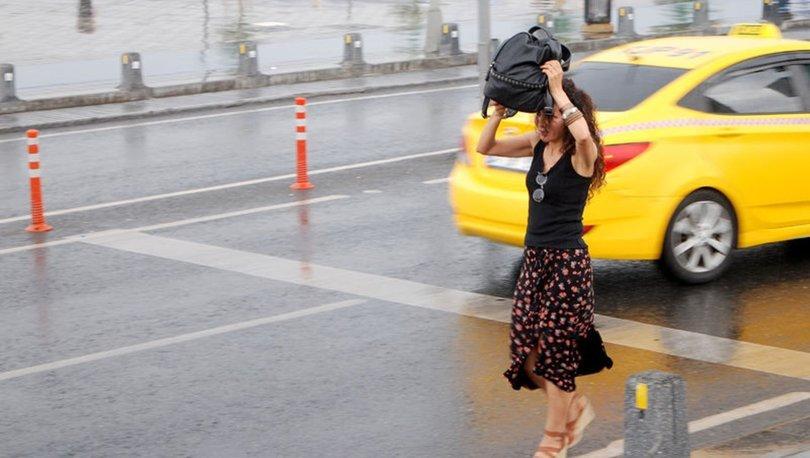 İstanbul hava durumu 20 Haziran! Meteoroloji uyardı, İstanbul'da sağanak yağmur başladı
