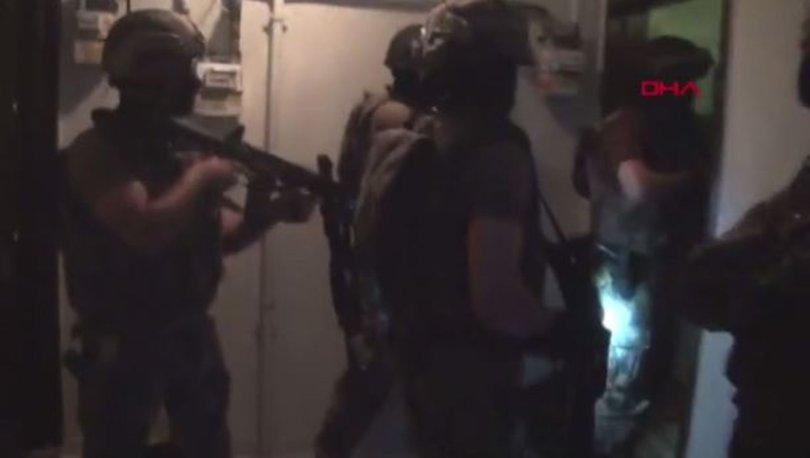 Sığınakta isimleri bulunan teröristlere operasyon!
