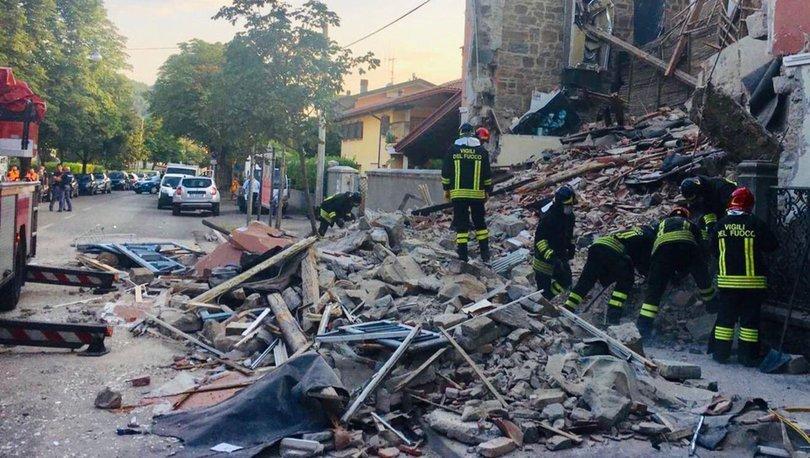 Son dakika: İtalya'da doğalgaz patlaması! Bina çöktü, 2 kişi öldü