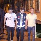 Taksim'deki magandalar yakalandı!