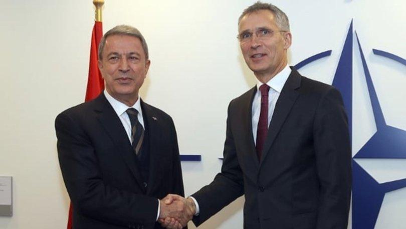 Son dakika... Milli Savunma Bakanı Hulusi Akar NATO Genel Sekreteri Stoltenberg'le görüştü