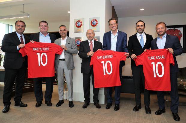 TFF'nin ana sponsorundan Özdemir'e ziyaret