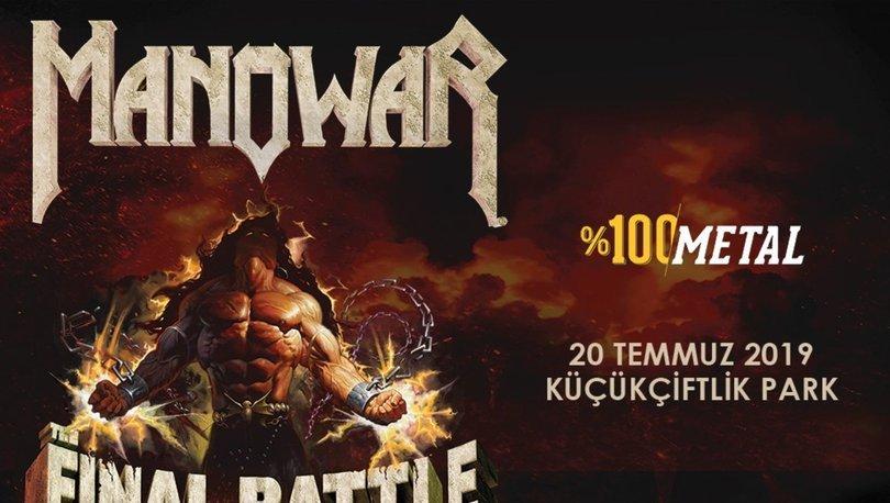 Manowar veda turnesinde son kez İstanbul'da