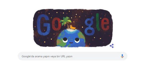 Google'dan 21 Haziran'a özel yaz gündönümü Doodle'ı