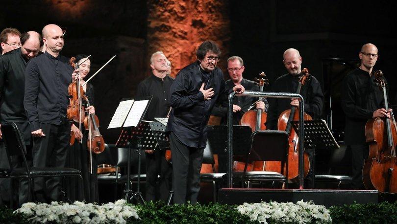 47. İstanbul Müzik Festivali Yaşam Boyu Başarı Ödülü Yuri Bashmet'e takdim edildi