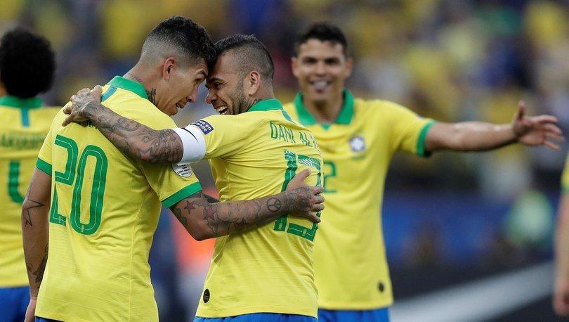 A Grubu'nda Brezilya ve Venezuela çeyrek finale yükseldi
