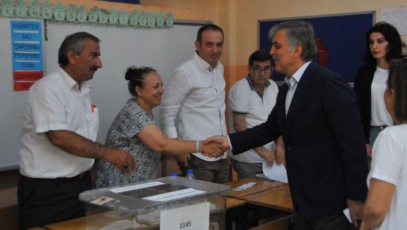 Abdullah Gül Beykoz'da oyunu kullandı!