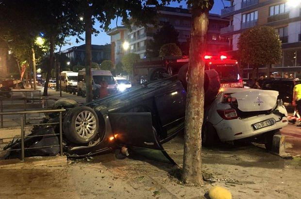 Üsküdar'da trafik kazası!
