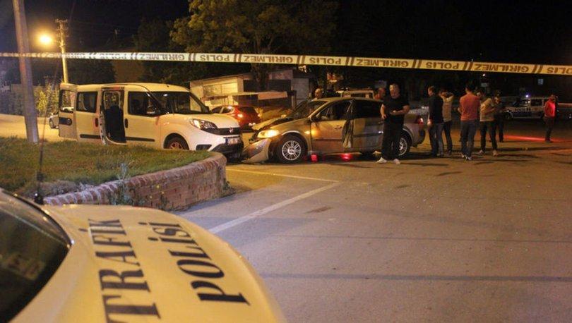 Karaman'da polis aracı ile otomobil çarpıştı: 2'si polis, 5 yaralı