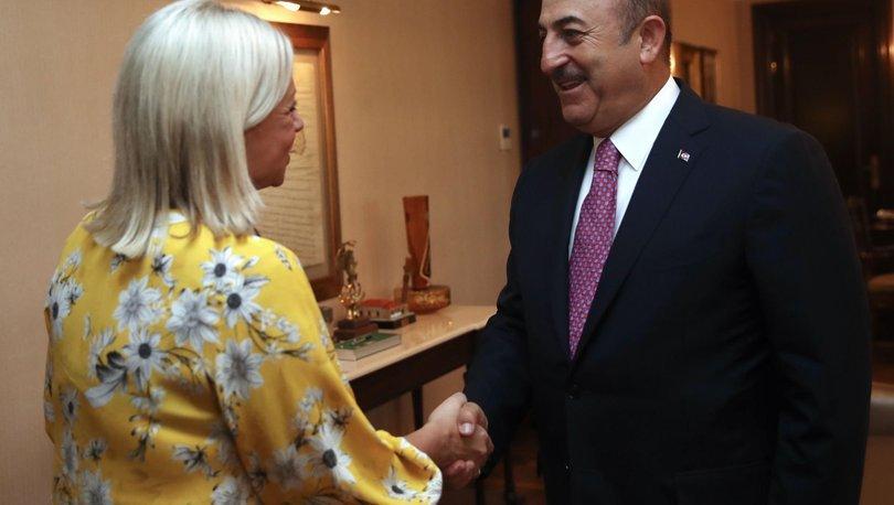 Çavuşoğlu, BM Irak Temsilcisi'yle görüştü