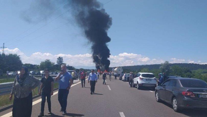 Araçlar Ankara istikametine yönlendirildi