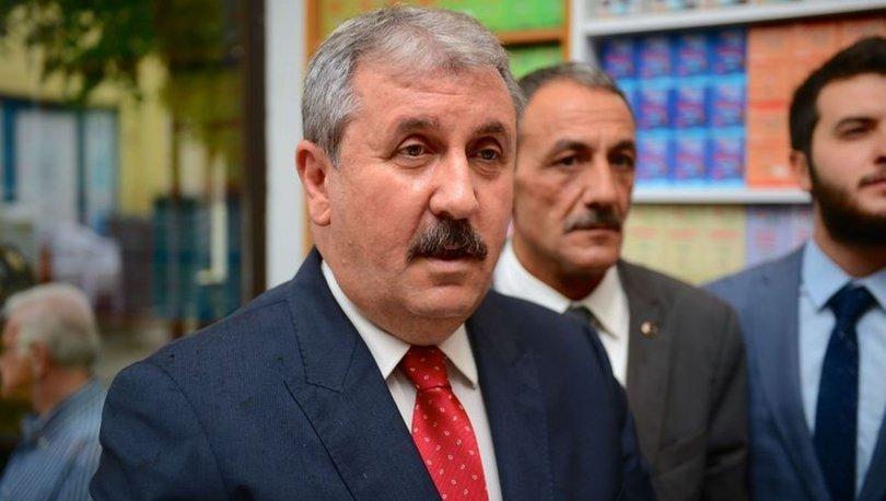 Mustafa Destici'den Ekrem İmamoğlu'na tebrik