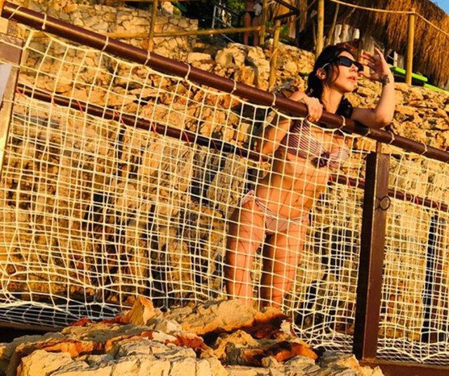 Hande Yener'den bikinili paylaşım - Magazin haberleri