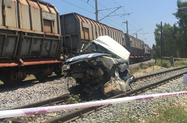 Tarsus'ta yaşanan tren kazasıyla ilgili 1 tutuklama