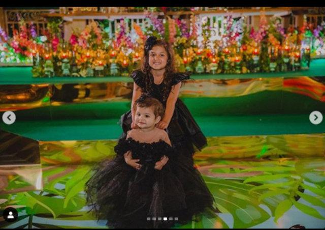 Amir Khan kızının ilk doğum günü için servet harcadı