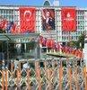 Istanbul Büyüksehir Belediye Baskani seçilen Ekrem Imamoglu için Saraçhane