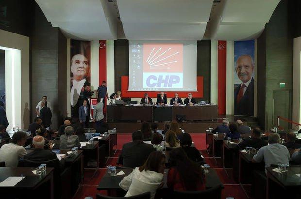 CHP Parti Meclisi pazartesi toplanacak
