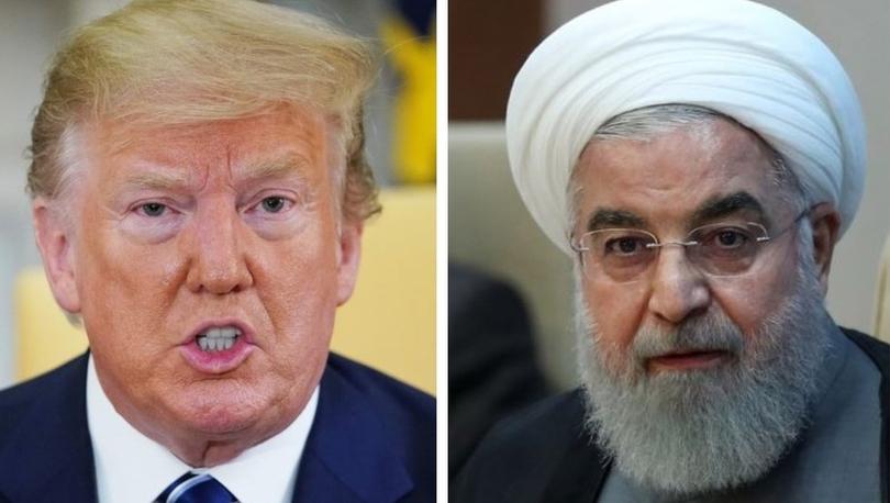 Trump'tan İran'a uyarı: Amerikan herhangi bir şeye saldırı, büyük ve ezici güçle karşılanacak