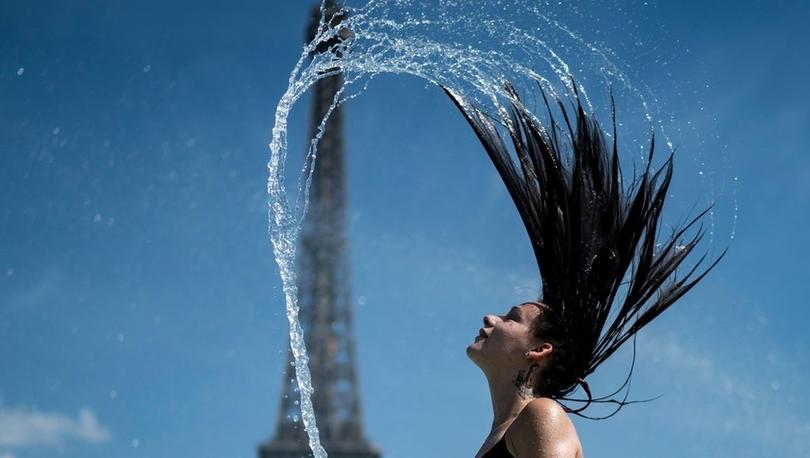 Fotoğraflarla: Avrupa'nın sıcak hava dalgasıyla imtihanı