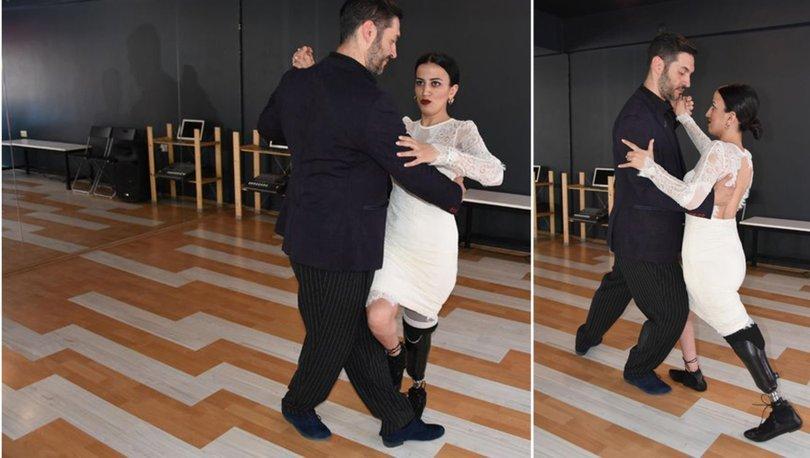 Derya, protezleriyle tango ve vals yapıyor!