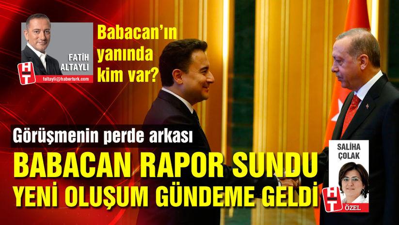 Cumhurbaşkanı Erdoğan Babacan ile görüştü!