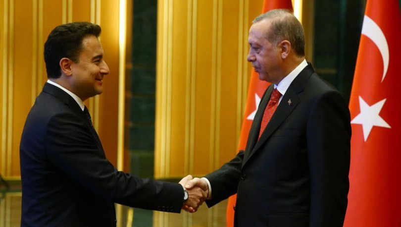 Cumhurbaşkanı Erdoğan, Ali Babacan ile görüştü