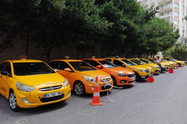 İstanbul'da taksicilere 'son durak' operasyonu!