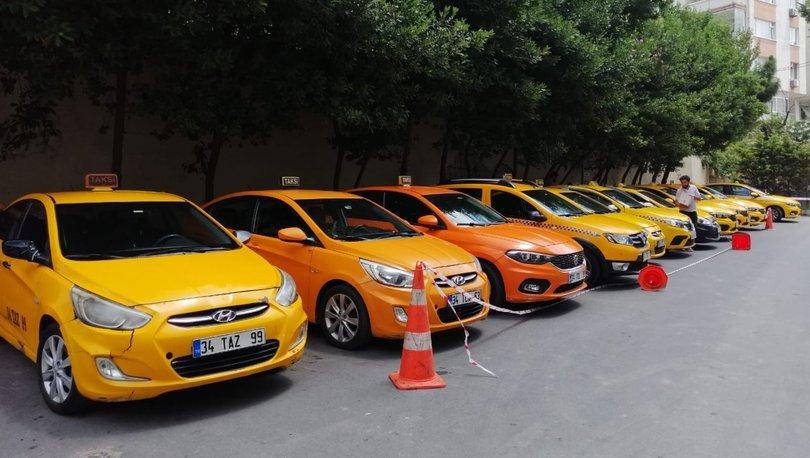 Ticari taksilere 'son durak' operasyonu