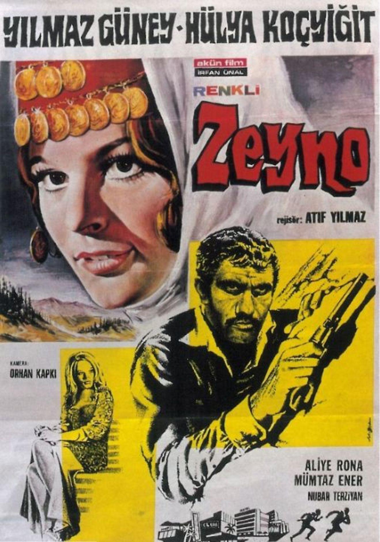 Enis Fosforoğlu, 1970 yapımı 'Zeyno'da 'Davut' karakterini canlandırdı.