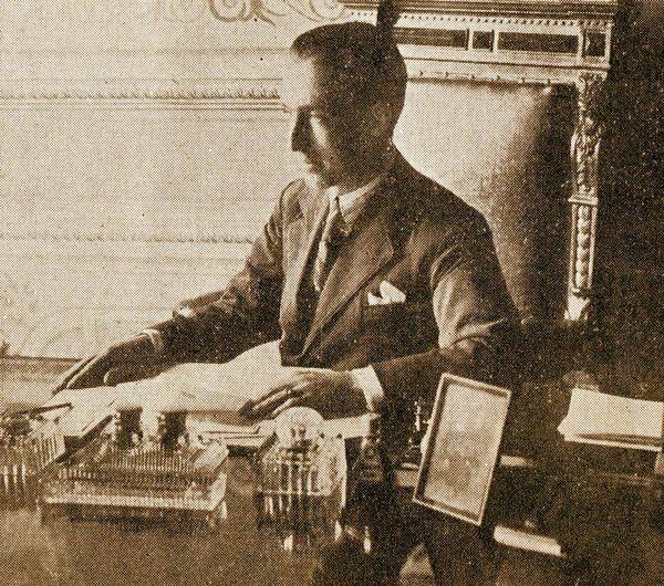 Yıldız Kumarhanesi'nin işletmecisi Mario Serra.