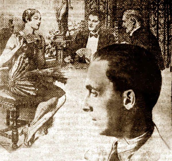 Yıldız Kumarhanesi hakkında o günlerin gazetelerinde yayınlanan bir çizim ve Mario Serra.