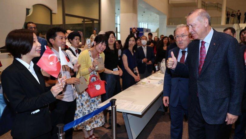 Cumhurbaşkanı Erdoğan, Kyoto'da Osmanlı sergisini ziyaret etti