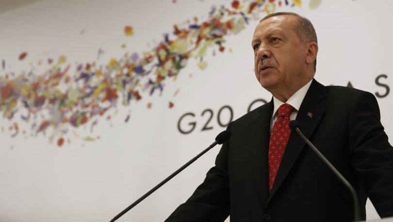 Son dakika haberi: Cumhurbaşkanı Erdoğan'dan G20 Zirvesi sonrası kritik mesajlar