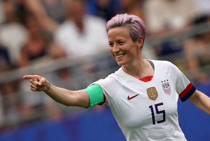 Amerika Kadın Futbol Milli Takımı kaptanı Megan Rapinoe