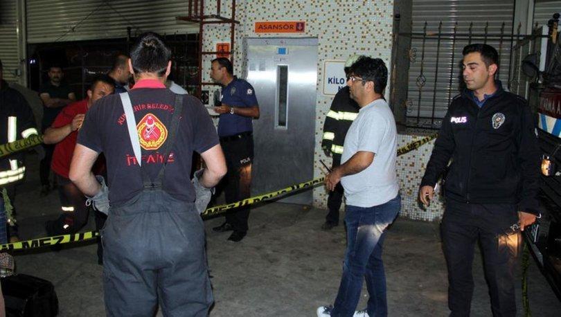 Kırşehir'de asansörde sıkışan çocuk hayatını kaybetti