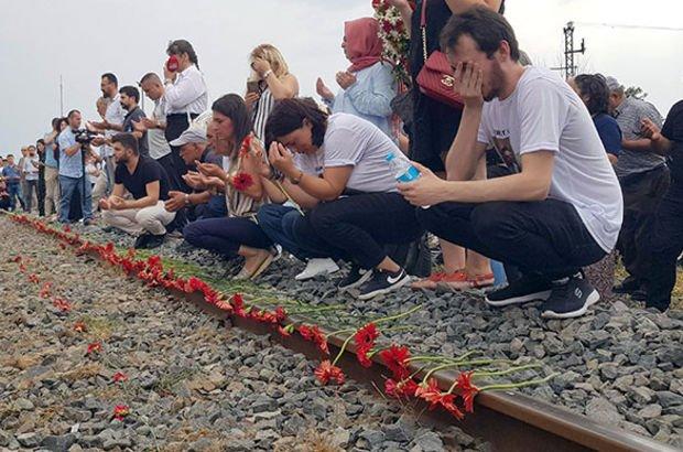 Tren kazasında ölen 25 kişi anıldı