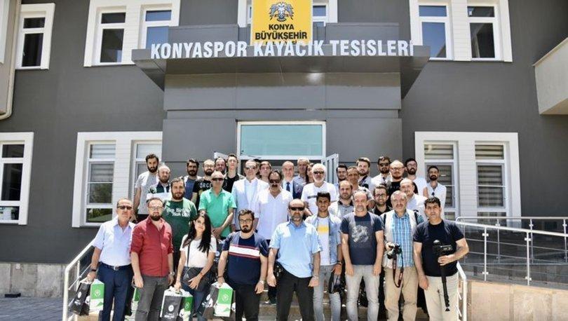 Konyaspor'un yenilenen tesisleri tanıtıldı