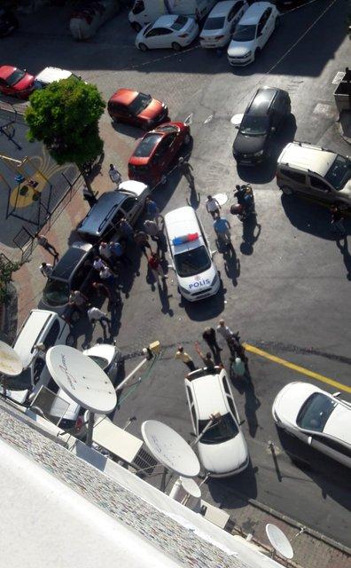 Son dakika! İstanbul'da dehşet anları... Kameraya böyle yansıdı