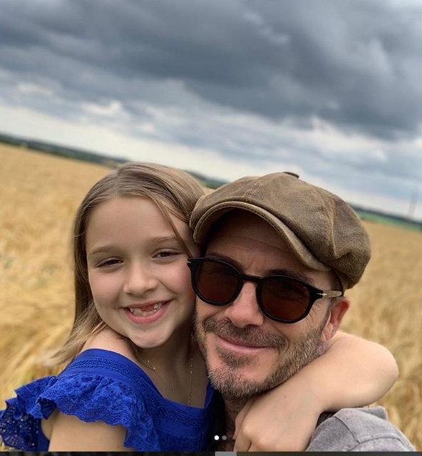 David Beckham'dan kızına doğum günü mesajı - Magazin haberler