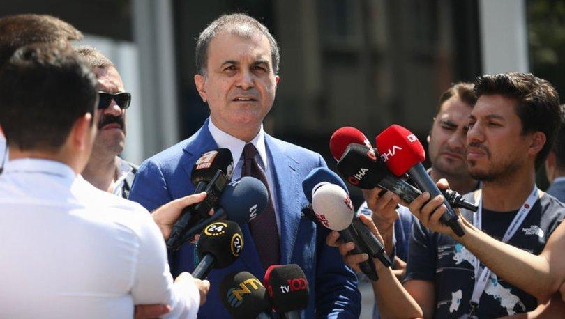 AK Parti sözcüsü Çelik