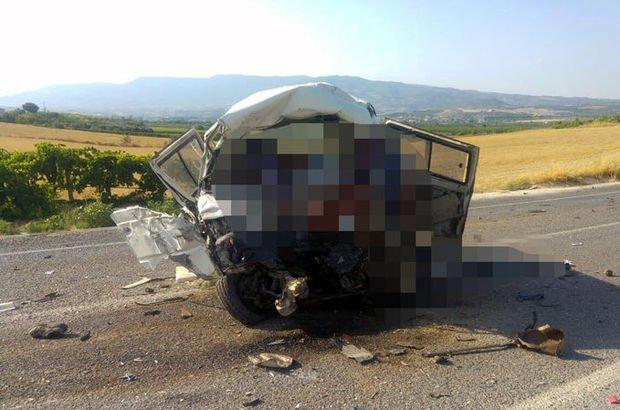 Manisa'da zincirleme kaza: Çok sayıda ölü ve yaralı var