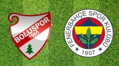 Boluspor - Fenerbahçe
