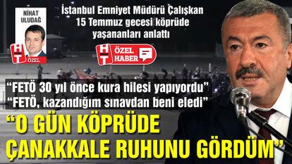 İstanbul Emniyet Müdürü Mustafa Çalışkan