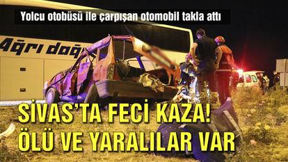 sivas trafik kazası