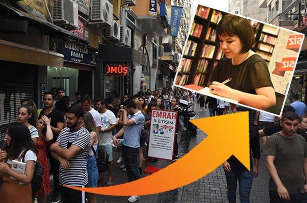 Hapis cezası alan 'Pucca', İzmir'de okurlarıyla buluştu