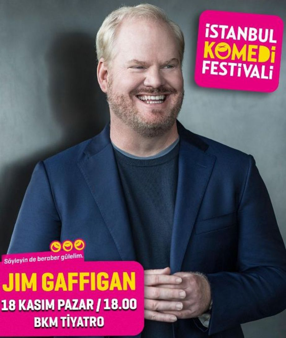 ABD'li komedyen Jim Gaffigan, geçtiğimiz yıl Türkiye'ye geldi.