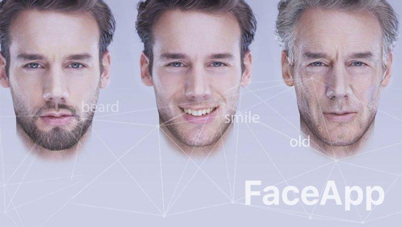 FaceApp yaşlandırma