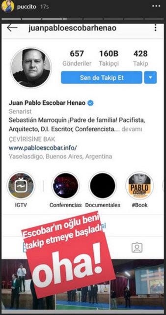 Pablo Escobar'ın oğlundan Pucca hamlesi - Magazin haberleri